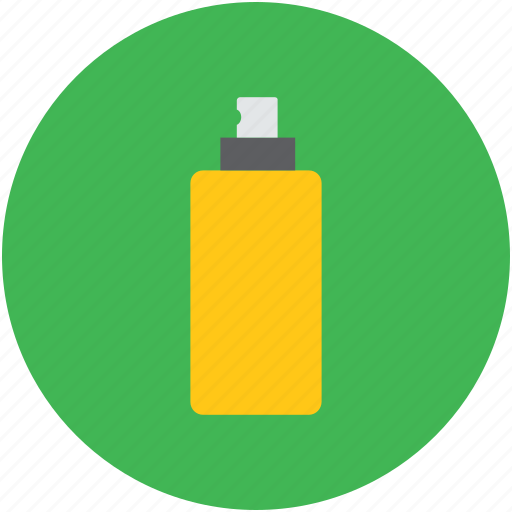 bottle, cosmetic, makeup accessory, product, sprayer icon