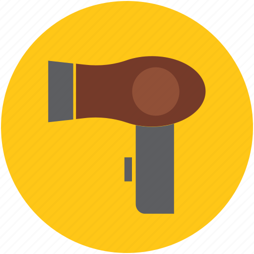 blow dryer, dryer, fashion accessory, hair accessory, hair dryer icon