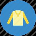boy shirt, chinese collar, clothes, full sleeves, garment, shirt icon