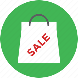 paper bag, sale, shopper, shopping, shopping bag icon