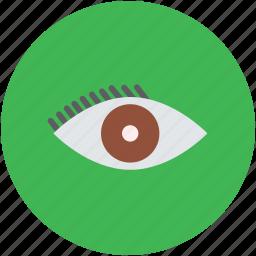 cosmetic, eye, eyelash, fashion, makeup, makeup accessory icon