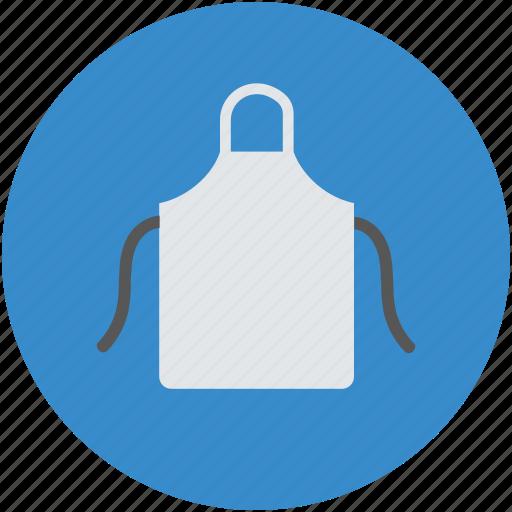 apron, apron for kitchen, chef apron, kitchen bib icon