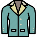 cloth, formal, men, style, suit, uniform icon