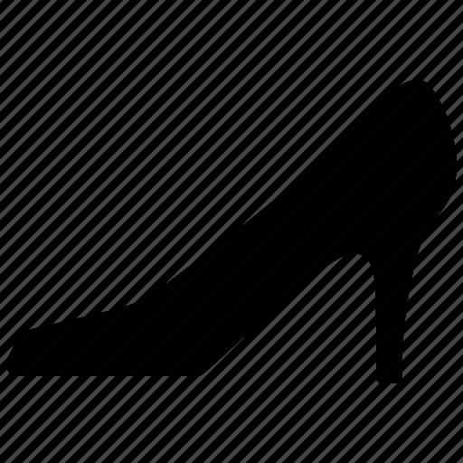 fashion, footwear, high heel, ladies shoe, shoe icon