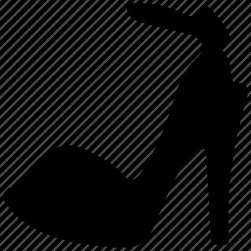 footwear, high heel, high heel sandal, ladies footwear, open-toed sandal icon