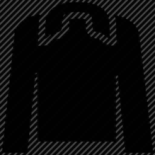 clothes, collar shirt, full sleeves shirt, men's shirt, shirt icon