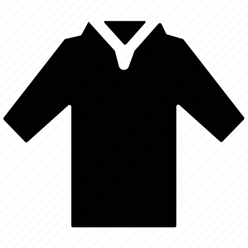 clothing, golf, polo, shirt, t shirt icon