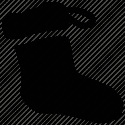 hosiery, sock, stocking, winter, winter wear icon