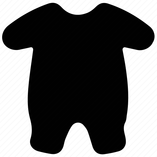 babywear, kids clothing, onesie, romper, shortie icon
