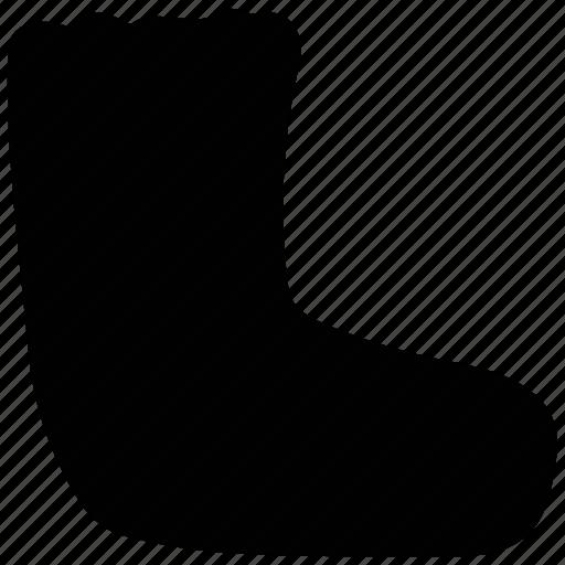 boot, footwear, rubber boot, shoe, warm shoe icon