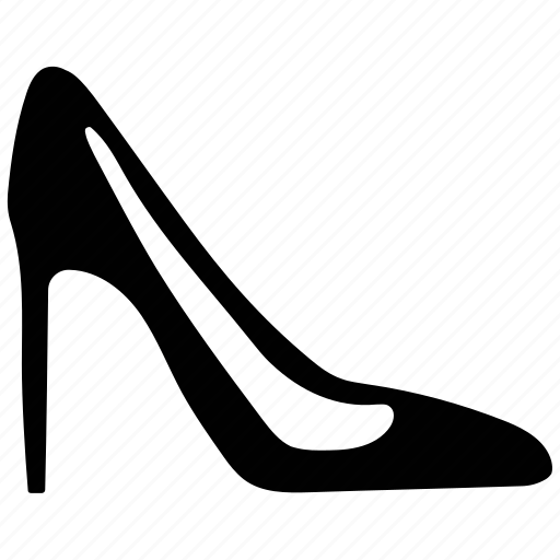 fashion, footwear, high heel, ladies footwear, ladies shoe, shoe icon