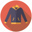 casual wear, clothing, fashion, garment, hoodie, sweater, wardrobe icon