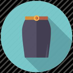 clothing, fashion, garment, pencil skirt, skirt, wardrobe, women's wear icon