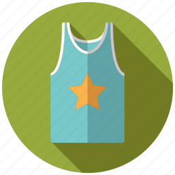casual, clothing, fashion, shirt, sportswear, tank top, wardrobe icon
