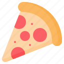fast, food, italian, junk, pizza, slice icon