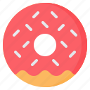 bakery, donut, doughnut, fast, food, snack, sprinkles icon