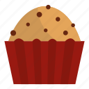 cup, food, dessert, cake, muffin, small, sweet icon