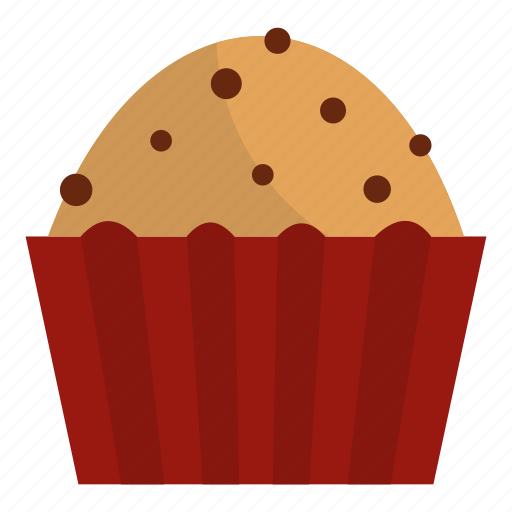 cake, cup, dessert, food, muffin, small, sweet icon