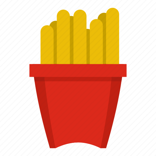 chip, fast, food, french, potato, snack, unhealthy icon