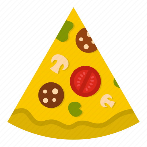 dinner, fast, food, lunch, meal, pizza, slice icon