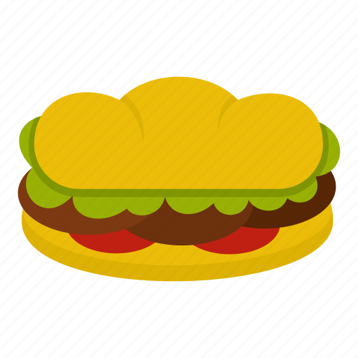 beef, bread, burger, food, meat, patty, sandwich icon