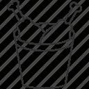 chicken, drum sticks, fried meat, leg piece icon