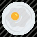 breakfast, egg, eggs, food, fried