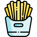 french fries, potato, fries, fast food, junk food, food and restaurant, food