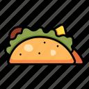 food, mexican, taco, tacos, meal, tortilla, meat