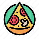 fast, fast food, food, pizza, restaurant icon
