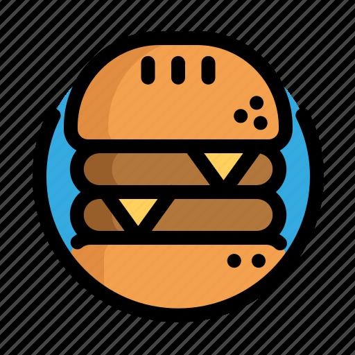 burger, fast, fast food, food, hamburger, meat, restaurant icon
