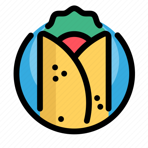burritos, fast, fast food, food, meat, restaurant icon