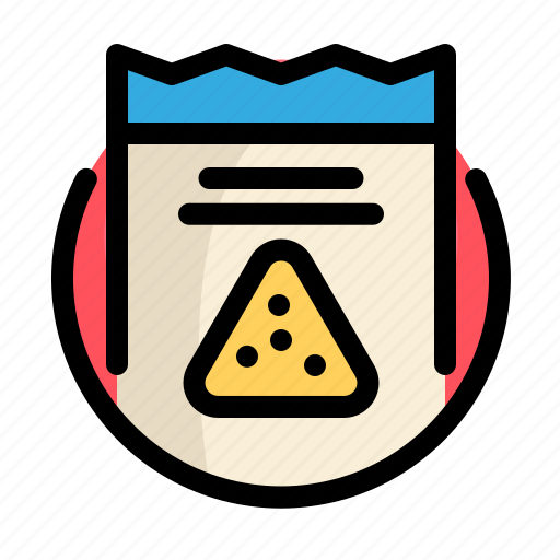 fast, fast food, food, nachos, restaurant, snack icon