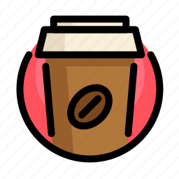 coffee, drink, fast, fast food, food, restaurant icon