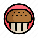 cake, fast, fast food, food, maffin, restaurant icon