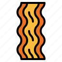 bacon, barbecue, grilled, meat, proteins icon