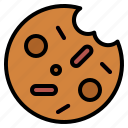 bakery, cookie icon