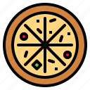 fast food, pizza icon