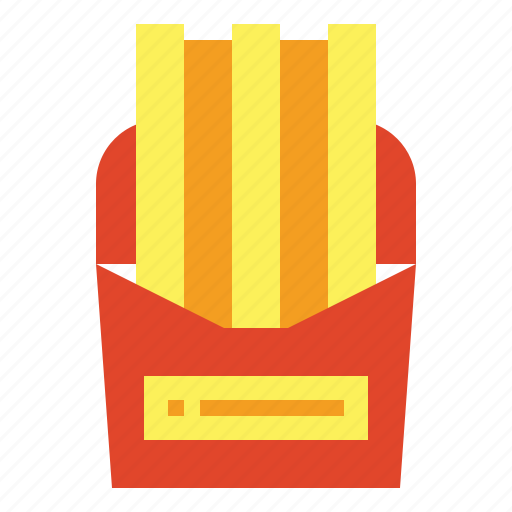 fast food, french fries, fries, junk food icon