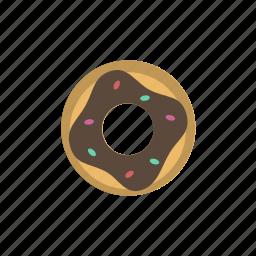 donut, fast food, food, snack, street food, streetfood icon