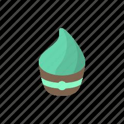 cake, cream, cupcake, dessert, fast food, food, street food icon