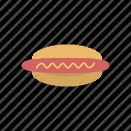 eating, fast food, food, hot dog, sausage, snack, street food icon