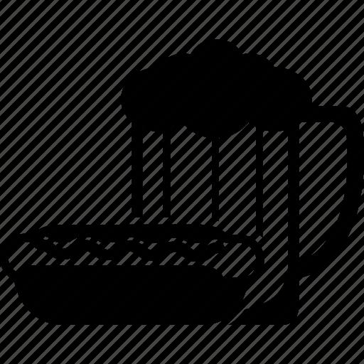 Beer, dog, drink, hot, sausage icon - Download on Iconfinder