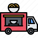 catering, chinese, fast, food, noodles, public, truck icon