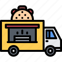 catering, fast, food, public, taco, truck