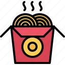 catering, chinese, fast, food, noodles, public icon