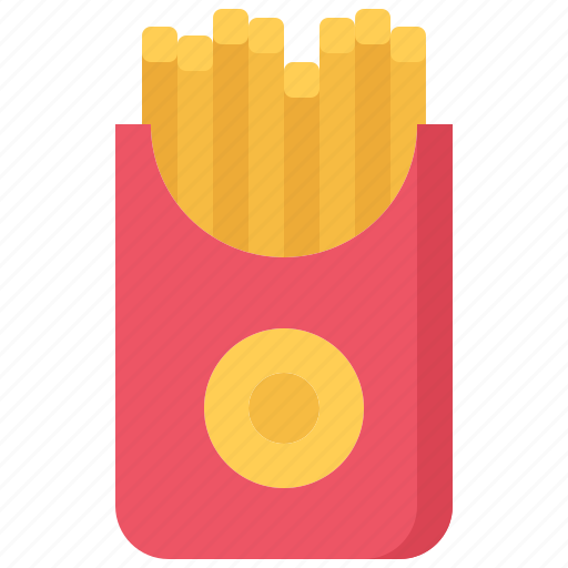 catering, fast, food, french, fries, public icon