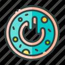 beverage, donut, food, restaurant, unhealthy icon
