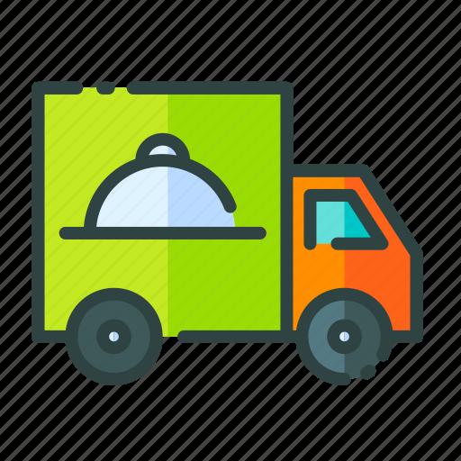 beverage, food, restaurant, truck, unhealthy icon