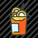 beverage, food, noodles, restaurant, unhealthy icon
